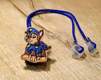 Police Dog - Hearing Aid Cord or Cochlear Implant Cord