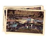 5 Vintage Skyline Caverns, Front Royal Virginia Unused Postcards Blank - Travel Themed Wedding Guestbook