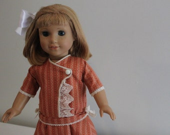 1900s Lacy Frock/ Fits 18in. Doll