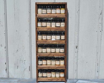 Behind The Door Hanging Spice Rack
