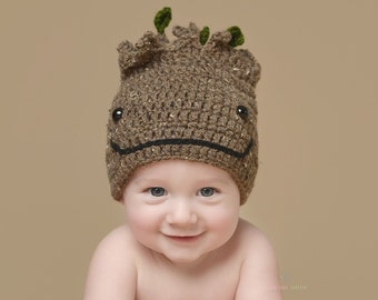 """Groot, Guardians of the Galaxy Hat, """"I am Groot!"""", Baby Groot Hat, NB to Adult Sizes,  Newborn Photo Prop, """"Groot, Put your Seatbelt On"""""""