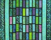 Quilt Pattern - Tradewinds Batik - Layer Cake or Fat Quarter Beginner Quilt Pattern -  - HARD COPY VERSION