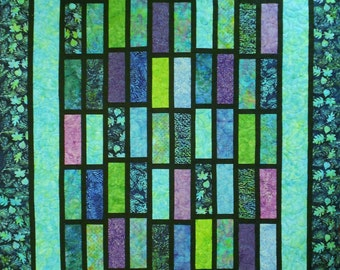 Quilt Pattern Easy Layer Cake Fat Quarter Friendly