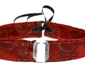 Gothic Jewel Red Choker Necklace Steampunk Vampire Victorian Cosplay Costume