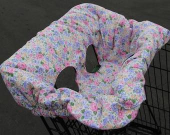 Baby Girl Shopping Cart Cover #23G-1076