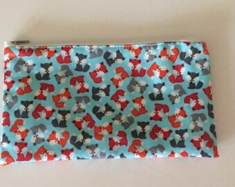 Blue Foxes Snackaby Dishwasher-safe reusable washable snack bag