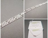 Sterling Silver Figaro 3+1 Chain - 925 Silver - Necklace Chain - Mens Necklace - Mens Chain - Jewelry Supplies - Jewelry Making - Extra