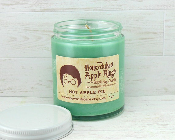Apple Rings Soy Candle - The Boy Who Lived - Wizards Candle