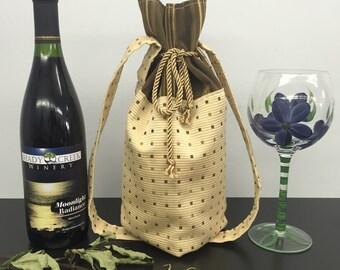 BYOB Wine Bag_Ivory Multi/Brown