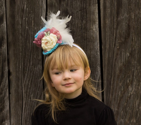 how to make a mini top hat headband