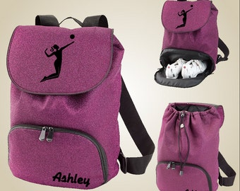 Volleyball gear bag - VolleyChick Glitter Backpack