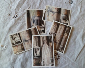 The Dolls house pack of five greetings cards