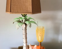 Upcycled and Repurposed Vintage Bread Warmer light with Tiki Design