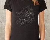 Celestial Map Women's T-Shirt - Alternative Apparel - Available in S, M, L and XL