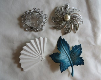 Assortment of Vintage Pins, Pins, Vintage