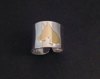 Great Dane Cuff Ring