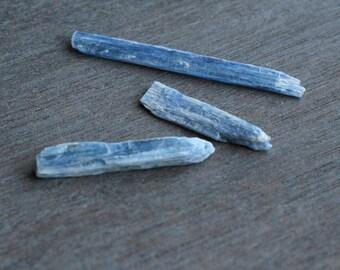 Blue Kyanite Blade set of 3 #4760