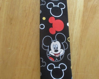 Mickey Mouse Black Tie  Great for a Disney Cruise Fish Extender  Princess Cruise Norwegian Cruise Holland America Cruise