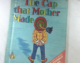 1967 Swedish Fairy Tale - The Cap that Mother Made - Children's Book