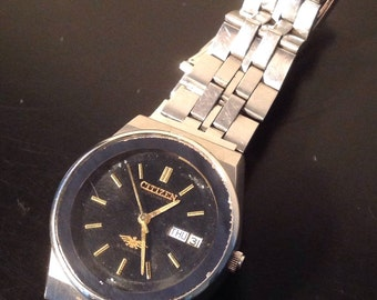 Mens Vintage Citizen 21 Jewels Automatic Watch