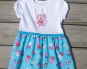 Peppa Pig inspired Dress / Baby or Toddler / Tee Shirt or Bodysuit / LAST ONE