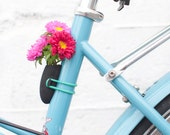Bike Planter in Black: A Flower Vase for Your Bike