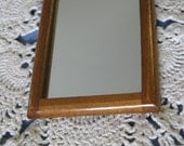 Miniature Doll House Hanging Wall Mirror