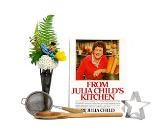 1989 From Julia Childs Kitchen PBS Series 1970s Julia Child French Chef Learn To Cook Homemade French Recipes Menus Techniques Bon Appetit