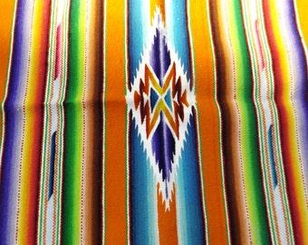 """Sale 16"""" small runner kilim reversible New old stock Gift vintage new table-napkin doily table center runner Home decor colorful runner"""