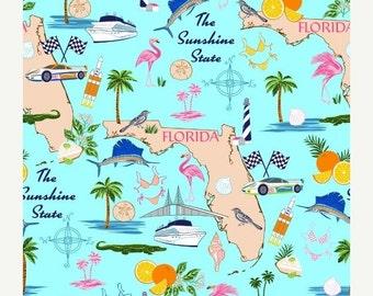 ON SALE Windham Fabrics Florida State Cotton Fabric