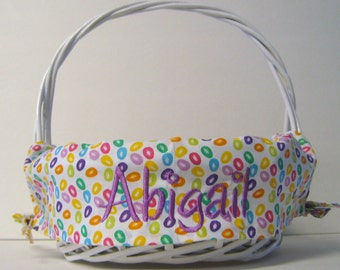 Private listing for Jenna Mahon for 2 Personalized Easter Basket Sets