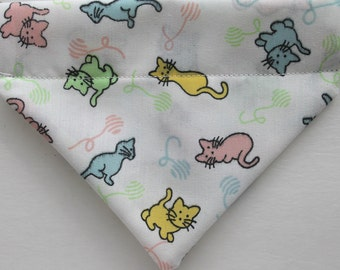 Cat Bandana, over the collar bandana