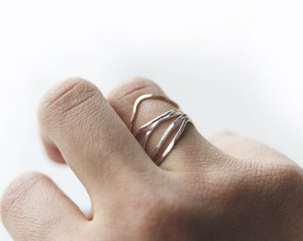 Nesting || Twiggy Fawn Stack Ring