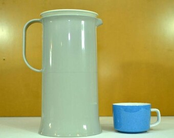 Vintage Retro Mod Tupperware Thermos Coffee Carafe Pitcher 1 Liter