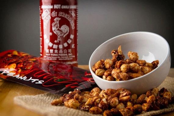 Gourmet Sriracha Roasted Peanuts