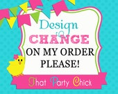 Design Changes on Order