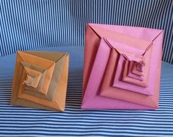 2 Origami Shells