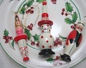 Vintage Avon Circus Ornaments~ SET OF 5~