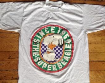 Vintage Snoopy the Super Beagle t shirt