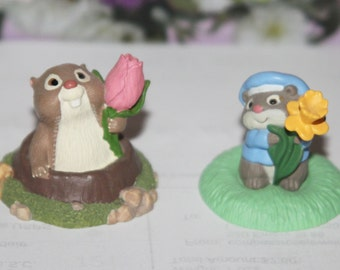 Vintage Hallmark Spring / Easter Merry Miniatures  1990's