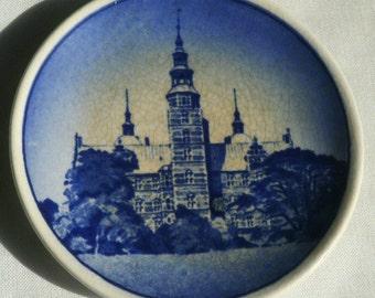 Vintage Royal Copenhagen Miniature Porcelain Souvenir Plate