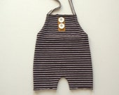 Newborn Striped Halter Overalls-Newborn Photography Prop-Baby Boy Overalls-Baby Boy Photo Prop-Photography Props-Newborn Boy-Baby Outfit