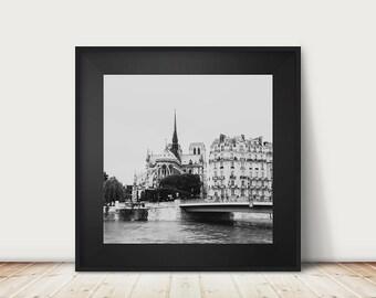 Paris photograph Paris print Notre Dame Paris decor cathedral photograph travel photography church photograph Notre Dame print