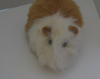Guinea Pig Honey White Plush