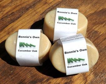 Cucumber Oak, 3 oz Soap Bar, Bath Soap, Goat Milk Soap, Woodsy Musk, Lemon Soap, Cucumber Soap, Oak Soap, Woods Musk, Manly Soap