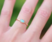 GOLD OVAL OPAL ring - opal ring - opal stacking ring - gemstone stacking ring - october birthstone ring - october ring stacking ring