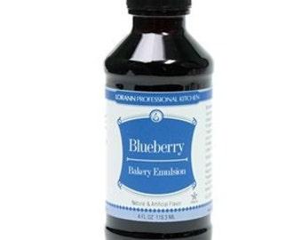 Blueberry LorAnn Emulsion Flavoring 4 oz.