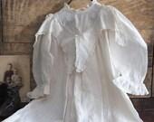 Antique White Dress, Toddler Dress, Antique Childrens Clothing
