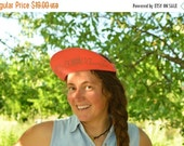 SALE Vintage O'neill  Visor Vintage 90's sun visor coral red