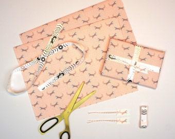 Claritus Fox Gift Wrapping Set